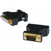 Female Dual Link DVI-A to VGA-HD15 Male Adapter