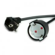 ROLINE 19.99.1168 :: VALUE захранващ кабел, удължителен, Schuko, AC 230V, черен, 10.0 м