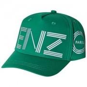 Kenzo Logo Keps Vivid Green Kepsar