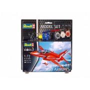 Bae Hawk T-1 Red Arrows repülőgép makett Revell 64921