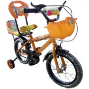 Oh Baby Baby 35.56 Cm (14) double seat bicycle Yellow color for your kids SE-BC-25