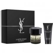 YSL La Nuit De L'Homme Комплект (EDT 60ml + SG 50ml) за Мъже