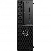 PC Dell Precision T3430, H8M88, crna, Intel Xeon E-2124G 3.4GHz, 256GB SSD, 16GB, Intel UHD P630, Windows 10 Professional, SFF, 12mj, Tipk., Miš