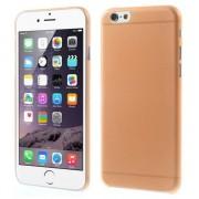 GadgetBay Coque iPhone 6 6s ultra mince et robuste de 0,3 mm d'épaisseur - Orange