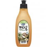 CJ LION «Chamgreen» Средство для мытья посуды, овощей и фруктов «Японский абрикос», 290 мл.