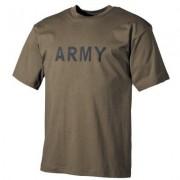 Max Fuchs MFH T-Shirt Army (Färg: Oliv, Storlek: XL)
