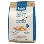 3x2,5kg Bosch Soft Junior com frango e batatas para cães ração