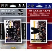 NHL Los Angeles Kings Licensed 2013-14 Score Team Set and All Star Card Set