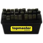 Букви хром 1.5мм-12.5мм комплект 27бр. - Top Master