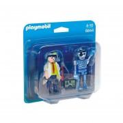 DUO PACK CIENTIFICO Y ROBOT PLAYMOBIL 6844
