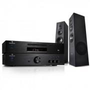 Electronic-Star sistema HIFI 600W Amplificador Reproductor CD MP3 Receptor+ altavoces HIFI (PL-4933-5063-1689)
