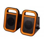 OMEGA Głośniki 2.0 OG119BO (43094) Czarno-pomarańczowy