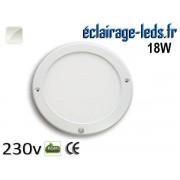 Spot LED 18W Blanc naturel détecteur de présence 230v