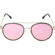 MARC LOUIS Oval Sunglasses(Pink)
