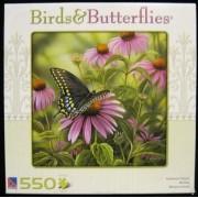 Birds & Butterflies Swallowtail Butterfly ~ 550 Piece Puzzle