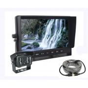 "AHD parkovací set do auta - 7"" LCD monitor a kamera s 18 IR LED"