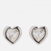 Ted Baker Women's Han: Swarovski Crystal Heart Earrings - Silver/Crystal
