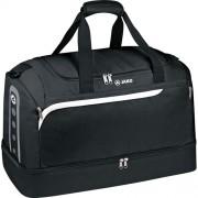 Jako Sporttasche PERFORMANCE - mit Bodentasche - schwarz/weiß/grau |