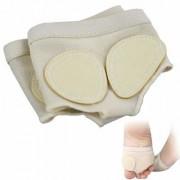 Digital Shoppy 1 Pair Girls Women Half Shoes Split Soft Sole Paw Dance Feet Protection High Quality Toe Pads (M)