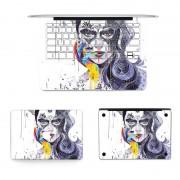 3 in 1 MB-FB16 (60) volledige Top beschermlaag Full Keyboard Protector-Film + bodem filmset voor MacBook Pro 13 3 inch DVD ROM(A1278) ons versie