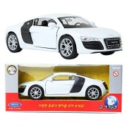 WELLY 1:34 Audi R8 V10 / White / Toy / DIE-CAST Toy Model cars