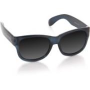 Flying Machine Round Sunglasses(Silver)