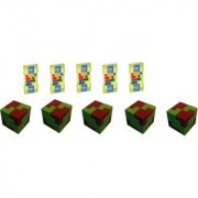 Virgo Toys Matchup and I Qube Puzzle (Combo) - Pack of 5