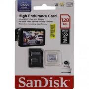 Micro SD Card, 128GB, SanDisk, microSDHC, 1xAdapter (SDSQQNR-128G-GN6IA)