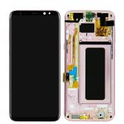 Samsung Repuesto Pantalla LCD/Táctil Original Rosa para Samsung Galaxy S8 Plus