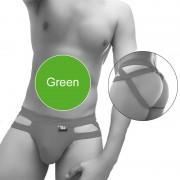Icker Sea Hoops Jock String Jock Strap Underwear Green COI-20-01