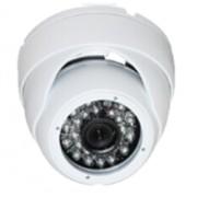 Dôme de surveillance IR AHD 720P / 1MP, 24 leds, 20m - Blanc