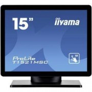 "Iiyama Dotykový monitor 38.1 cm (15 "") Iiyama T1521MSC-B1 N/A 4:3 8 ms VGA, USB TN LED"
