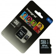 Pour SONY Xperia Z3 / Z3 Compact : Carte Memoire 16 Go Micro Sd Hc + Adapt Sd Integral