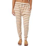 Silent Theory Womens Fluid Stripe Pant Tan