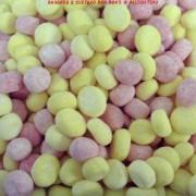 Kingsway Rhubarb & Custard Chewy Bon Bons Sweets