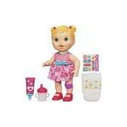 Boneca Hasbro Baby Alive Loira, Machucadinho