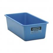 CEMO Großbehälter aus GfK Inhalt 200 l, LxBxH 1218 x 620 x 358 mm blau