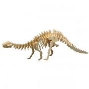 Puzzle eco 3D din lemn Brontosaurus Pebaro