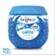 Scent Gems Odor Eliminator, Cool And Clean, Blue, 10 Oz, 6/carton