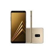 Smartphone Samsung Galaxy A8 Dual Chip Android 7.1 Tela 5.6 Octa-Core 2.2GHz 64GB 4G Câmera 16MP - Dourado