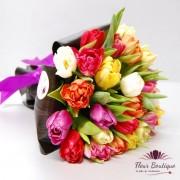 "Buchet 25 lalele ""Springtime Tulips"""