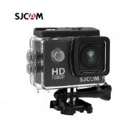 SJCAM SJ4000 acción 1080P Cámara deportes DV 2,0 pulgadas buceo 30M impermeable HD extremo al aire libre casco Original SJ 4000 Cam(#Negro)(#Option 1)