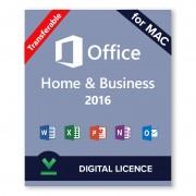 Microsoft Office 2016 Home and Business - Licencia digital para Mac - Software para descargar