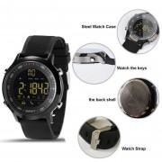 Reloj Smartwatch, Shuua EX18 Smartband Bluetooth Reloj Inteligente Pulsera Impermeable De Deportivos Para IOS Android - Negro