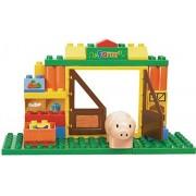 Sluban Happy Farm Building Block Toys For Kids 40 Pieces Multi Color LEGO Compatible Educational Gift Toy Set M38-B6002