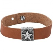 Dare by Voylla Chic Star Oxidized Silver Bracelet From Squad Collection