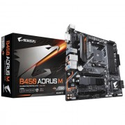 MB, GIGABYTE B450 AORUS M /AMD B450/ DDR4/ AM4