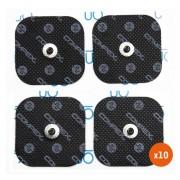 Compex Pack 10 Compex 4 Snap Performance 5x5cm Elektroden