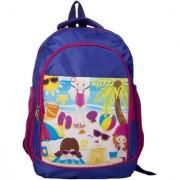 Li'll Pumpkins Pink Paris School Bag
