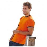 Fruit of the Loom ringer oranje shirt voor heren